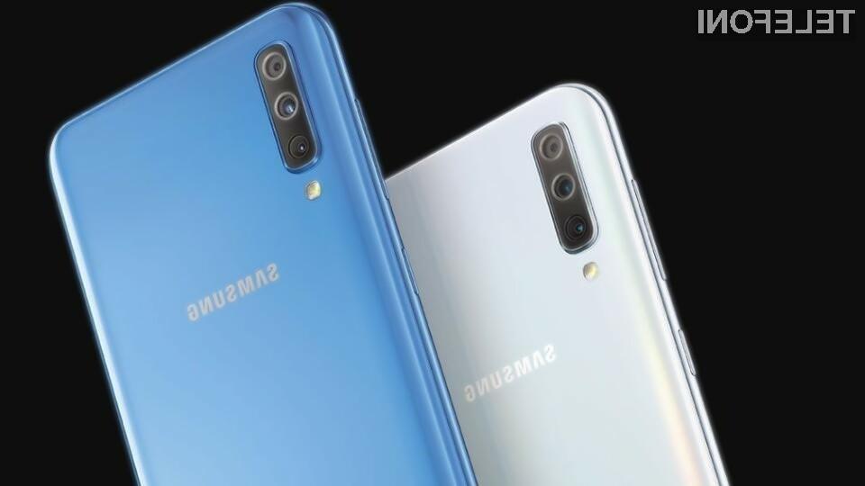 Samsung Galaxy A70S bo prvi, ki bo opremljen s fotoaparatom ločljivosti kar 64 milijonov slikovnih točk.