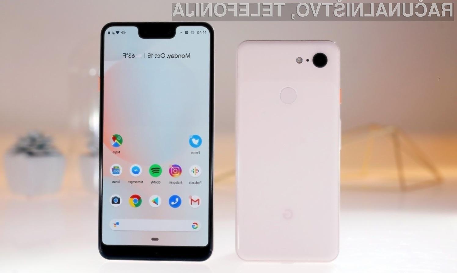 Glavna aduta telefona Pixel 3a in Pixel 3a XL sta fotoaparat in Android.