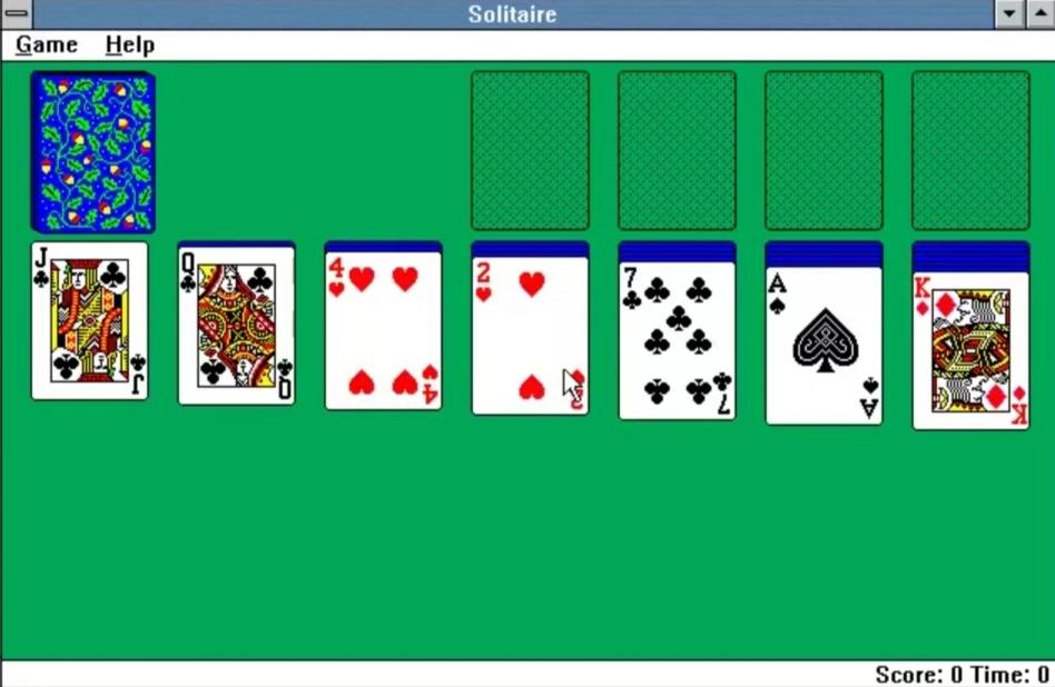 Tradicionalno igro s kartami je v računalniški svet ponesel takratni pripravnik pri Microsoftu.