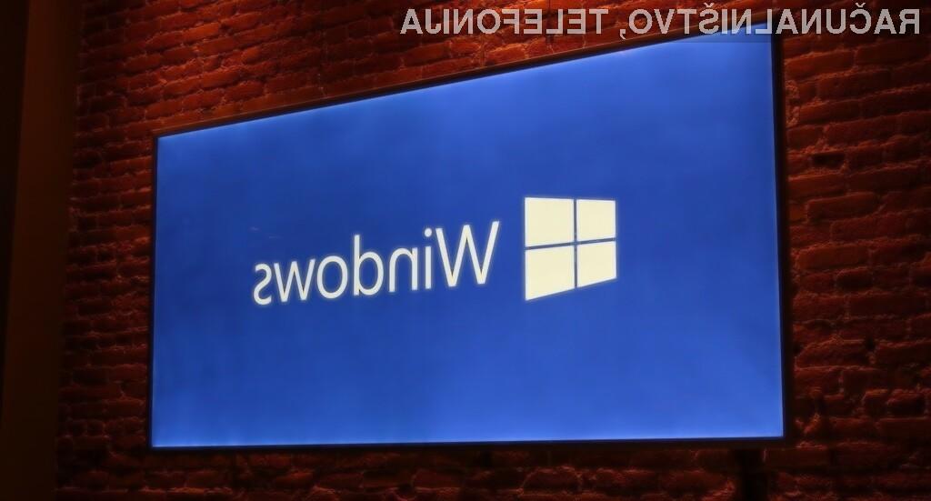 Število naprav z operacijskim sistemom Microsoft Windows 10 vse bolj narašča.