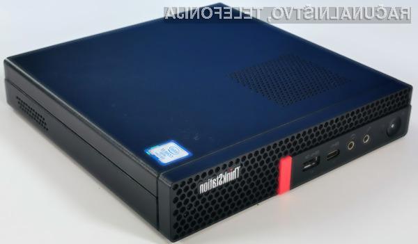 Kompaktna delovna postaja ThinkStation P330 Tiny je kos tudi najzahtevnejšim nalogam.