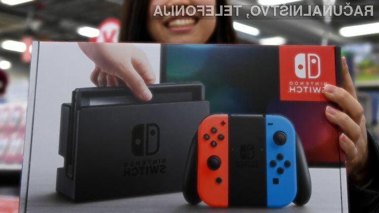 Novi igralni konzoli Nintendo Switch ne bodo izdelani na Kitajskem.