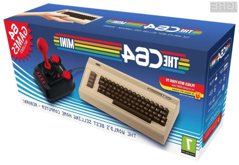 Retro računalnik THEC64 bo brez težav navdušil tudi najzahtevnejše ljubitelje retro iger.