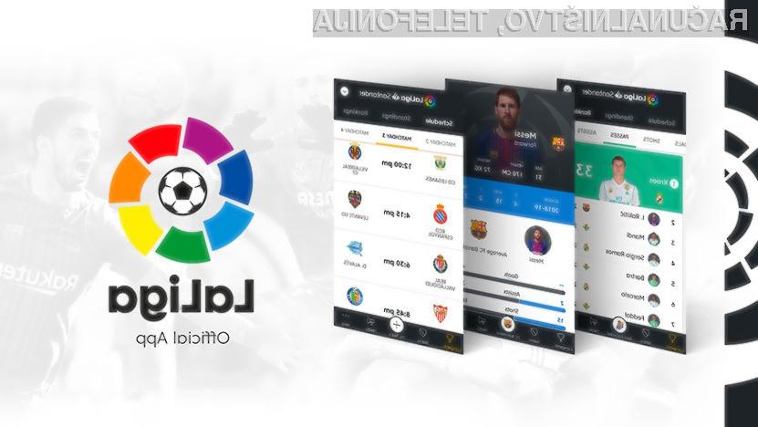 Španska nogometna liga je prekrito shranjevala tako lokacijske podatke kot govor uporabnikov.