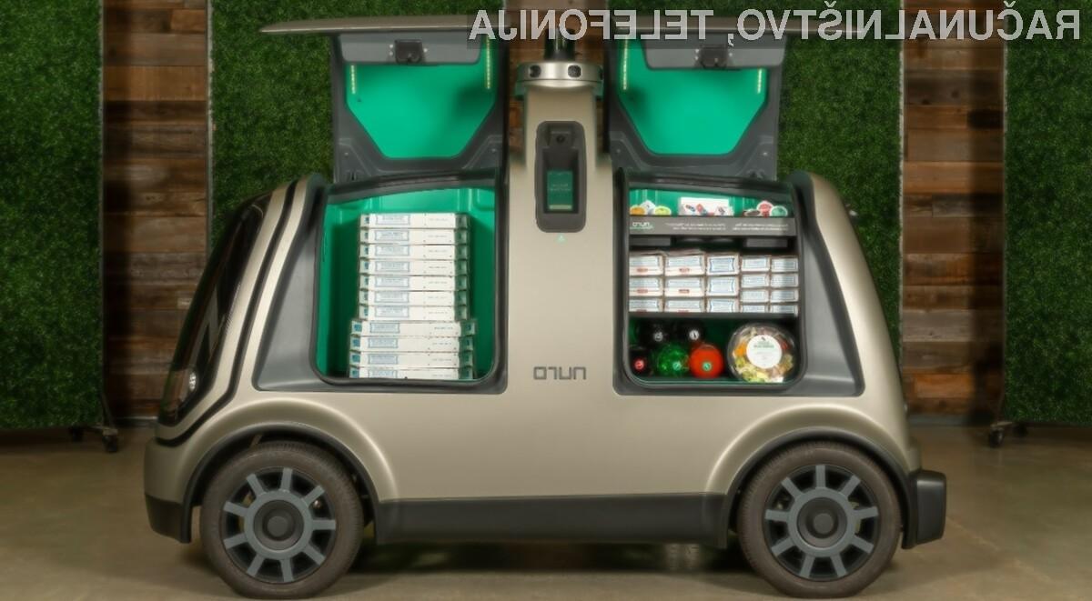 Pri ameriškem podjetju Domino's pa so nedavno sprejeli odločitev, da bodo njihovim strankam pice dostavljali kar s samovozečimi vozili