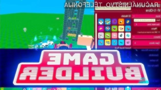 Programsko orodje Google Game Builder je primerno tako za začetnike kot poznavalce.