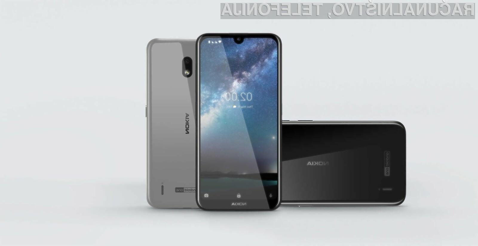 Z mobilnim omrežjem 5G bosta polno združljiva dva pametna mobilna telefona Nokia.