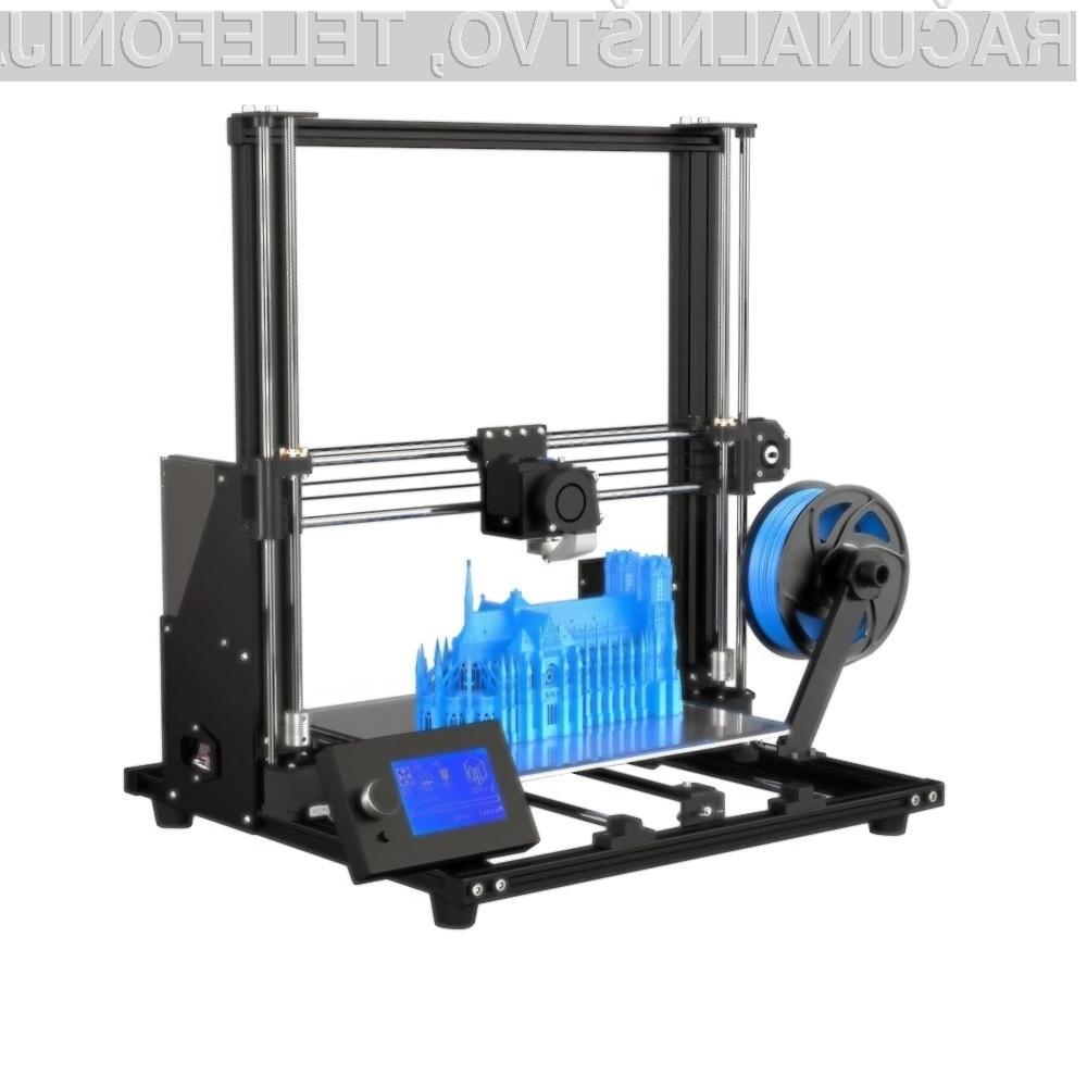 3D tiskalnik Anet A8 Plus za malo denarja ponuja veliko!