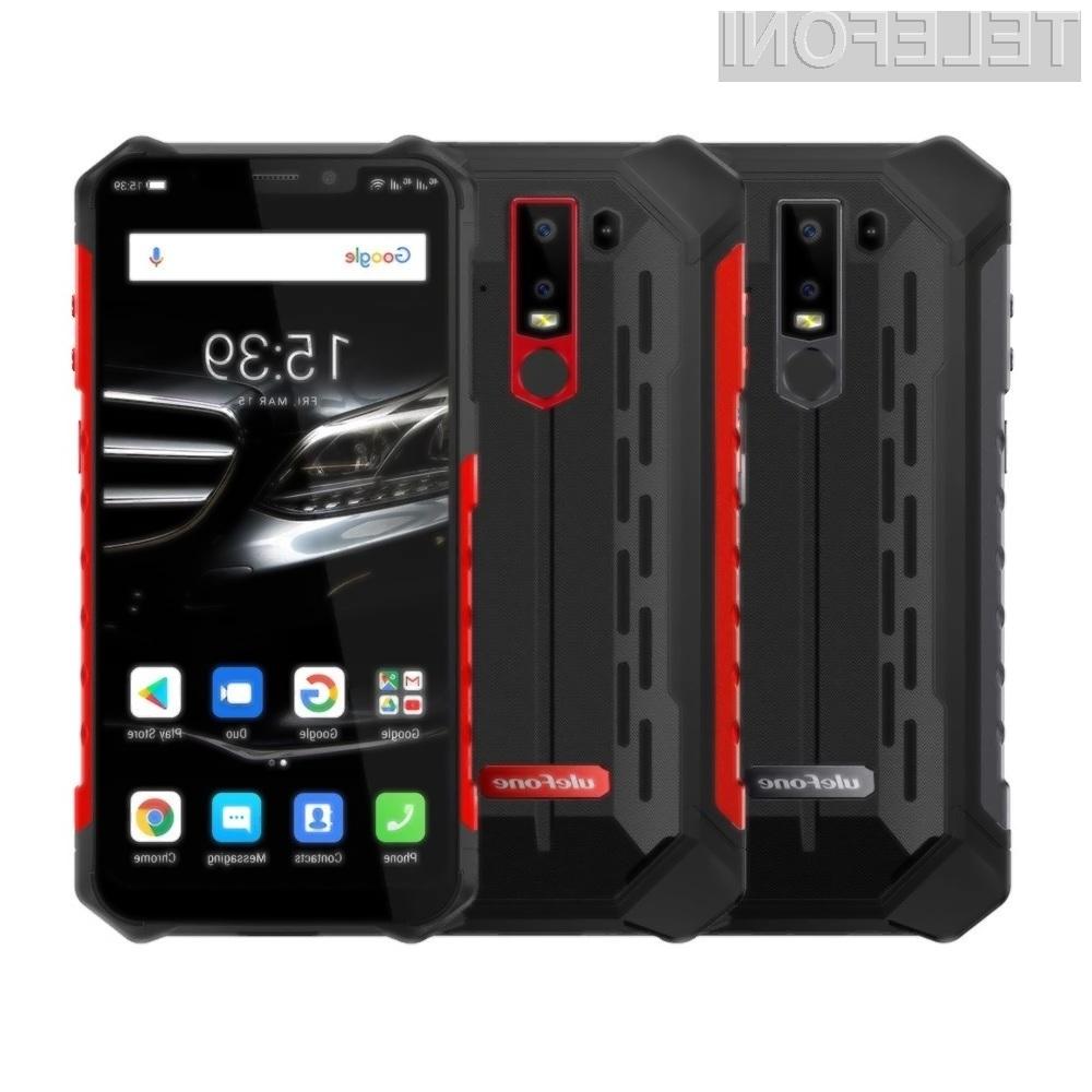 Pametni mobilni telefon Ulefone Armor 6E je praktično odporen na vse!