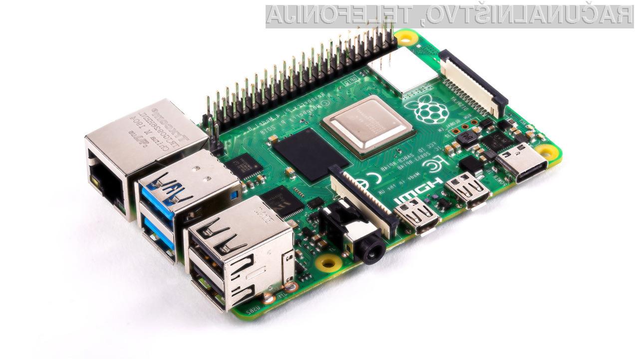 Raspberry Pi 4 za navdušence!