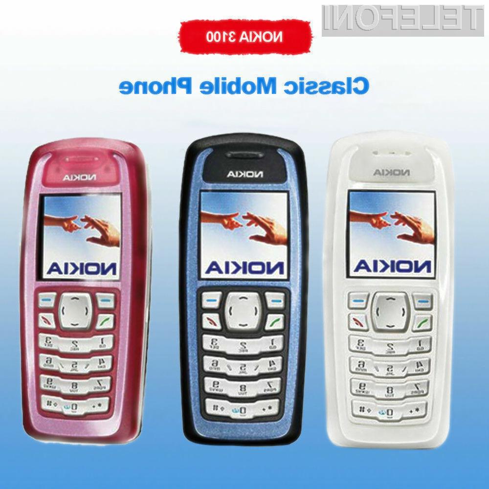 Zanimivi telefon Nokia 3100 je na spletnem portalu Ebay naprodaj za pičlih 10,43 evrov!