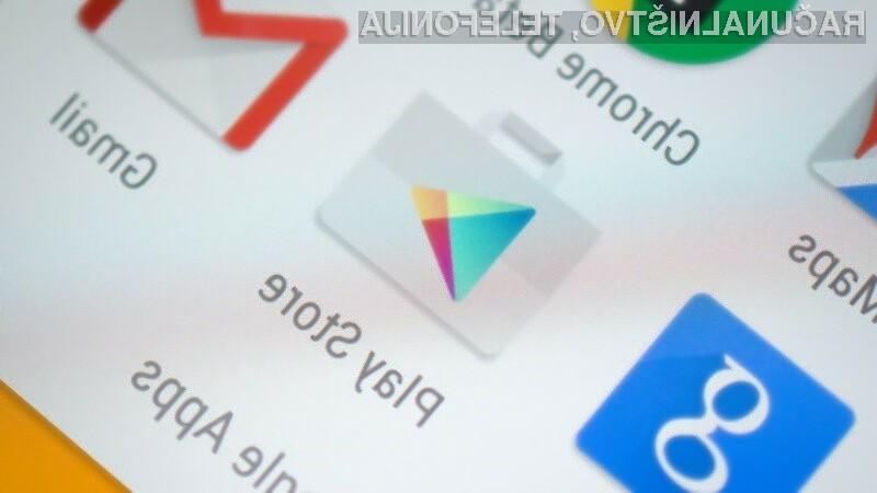 Tudi na spletnem portalu Google Play najdemo veliko zlonamernih programov za Android.