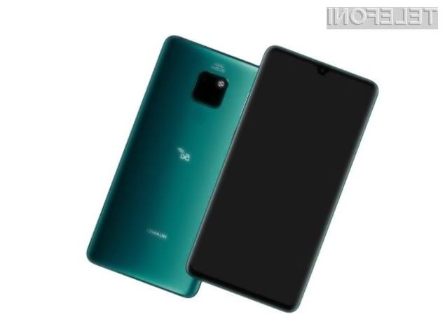 Napredni Huawei Mate 20 X (5G) bo naprodaj tudi tam, kjer mobilno omrežje 5G še ni na voljo.