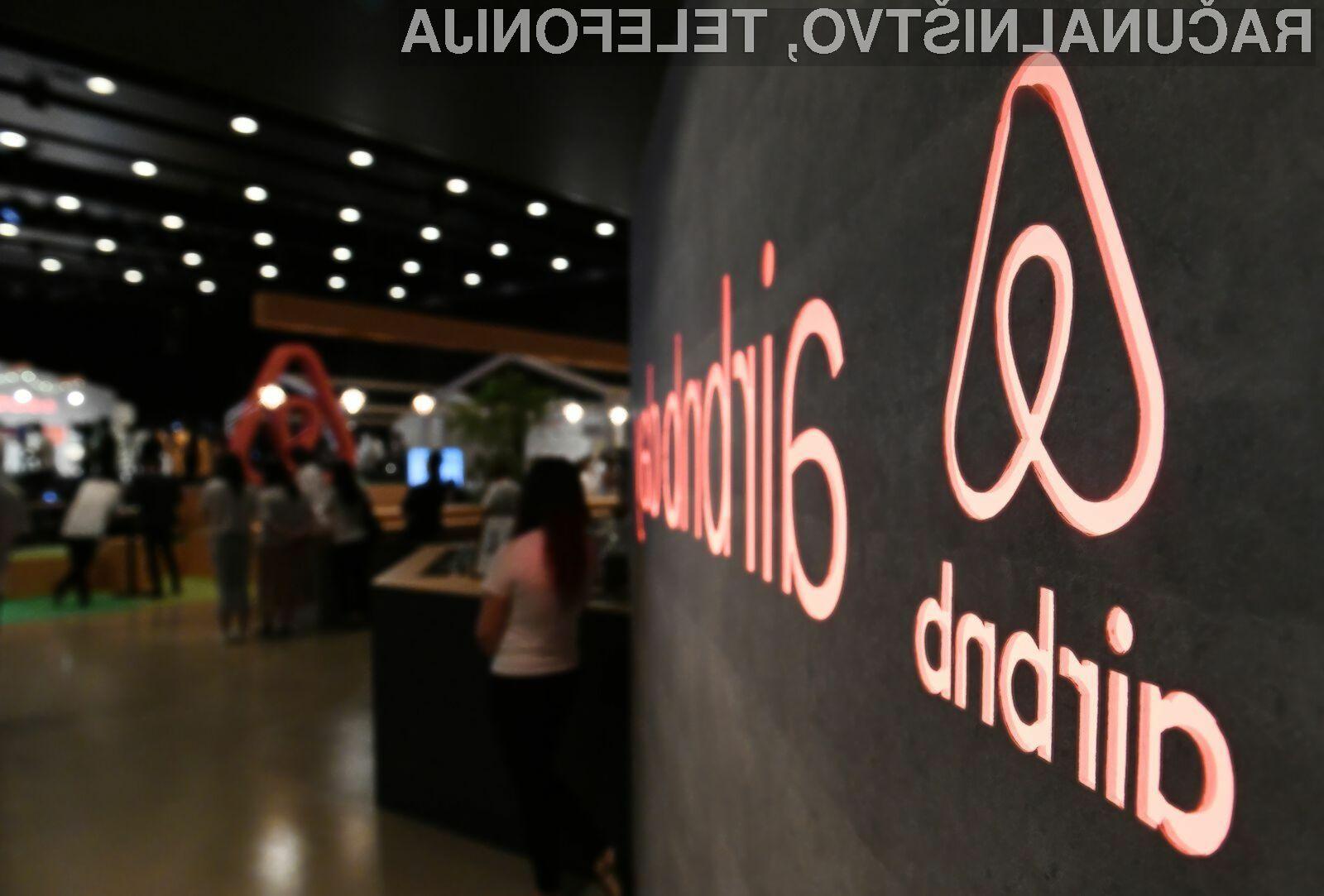 Evropska komisija je Airbnb prisilila k spremembi cen za Evropejce