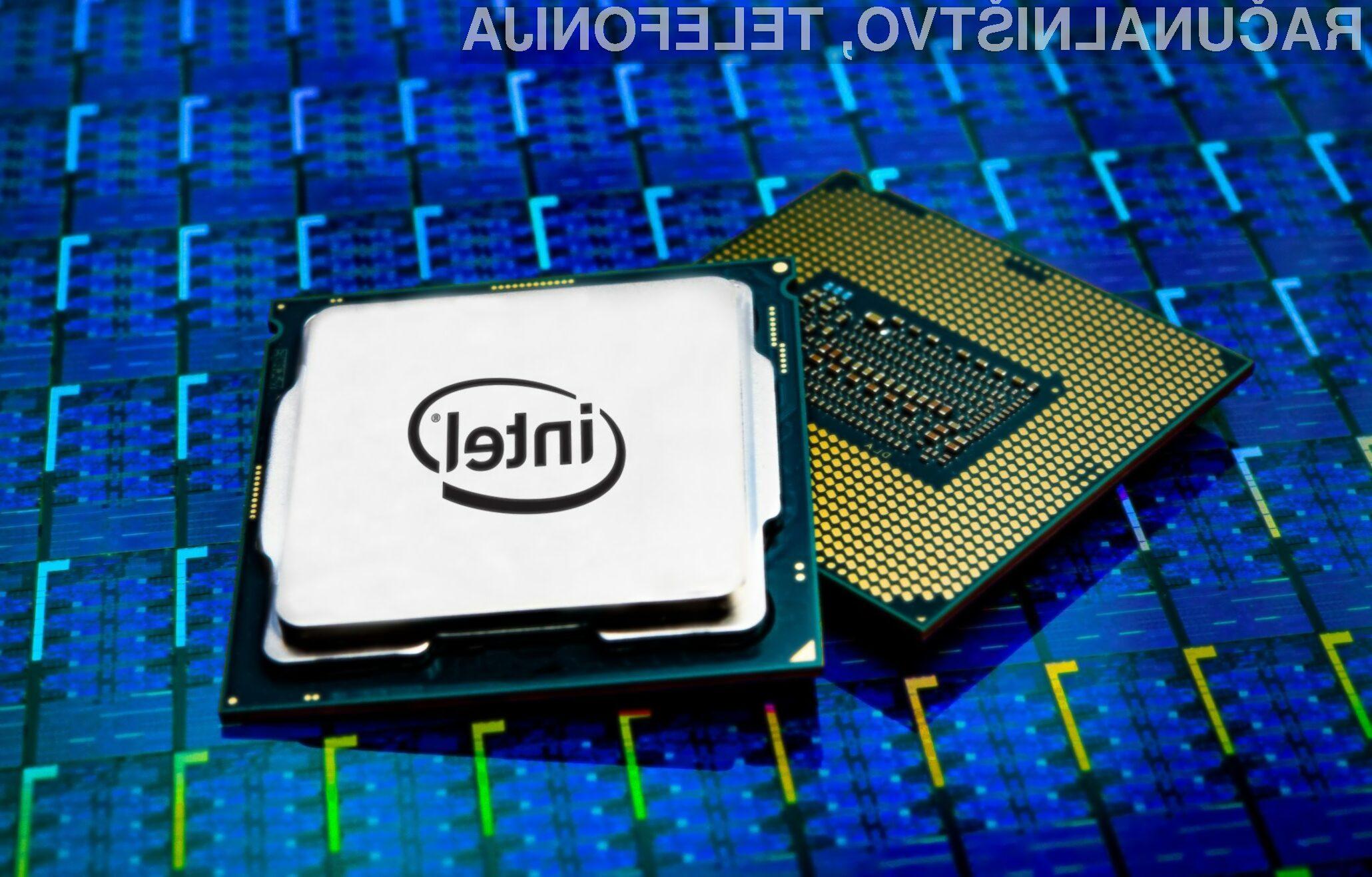 Procesorji Intel Comet Lake za osebne računalnike naj bi bili nared še pred koncem letošnjega leta.