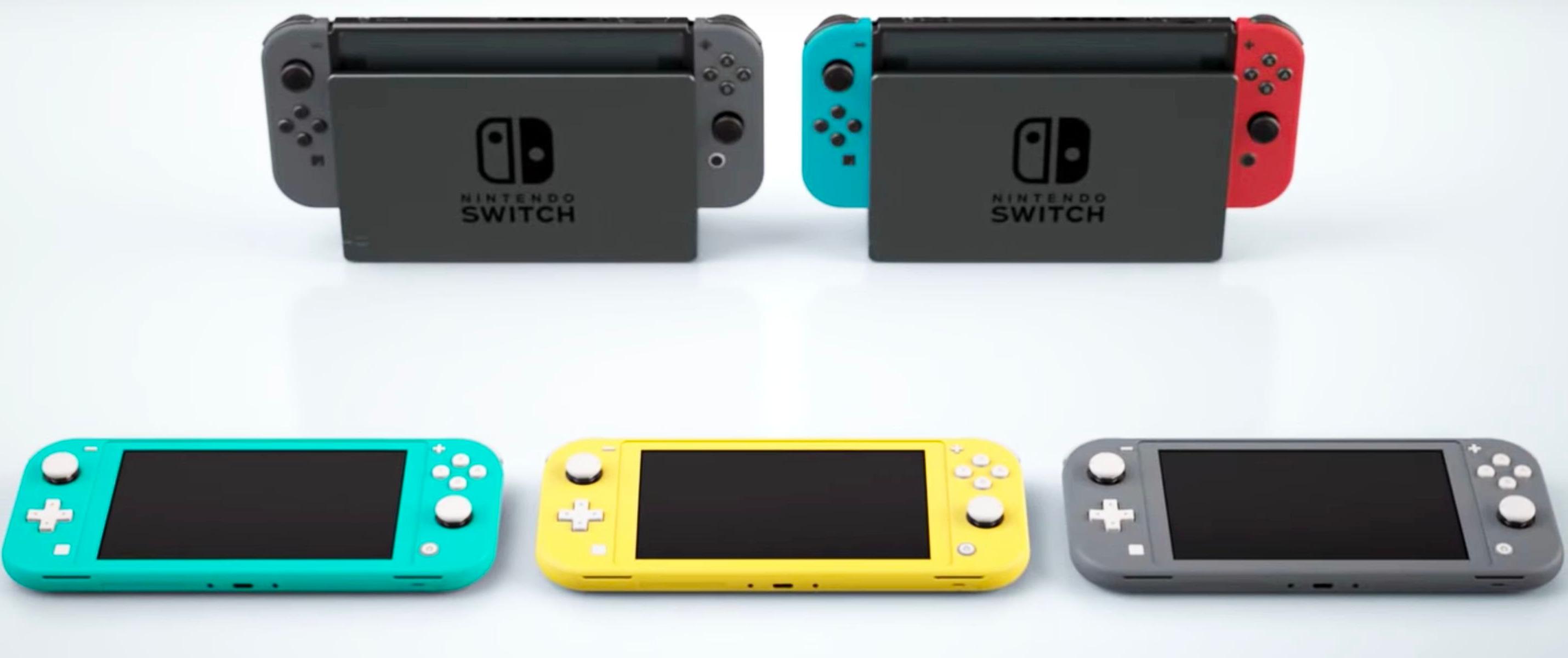 Lite bo priročnejši in cenejši model priljubljene Nintendove konzole Switch.