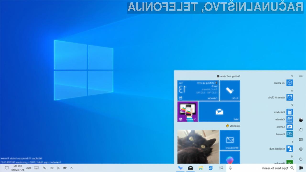 Posodobitev iz različice 1803 na različico 1903 bo za uporabnike operacijskih sistemov Windows 10 kmalu postala obvezna.