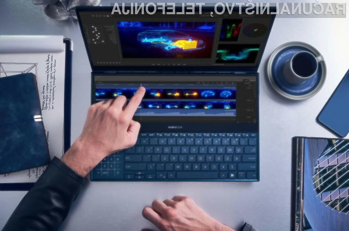 Asus ZenBook Pro Duo ponuja edinstven in precej zanimiv način uporabe prenosnega računalnika.