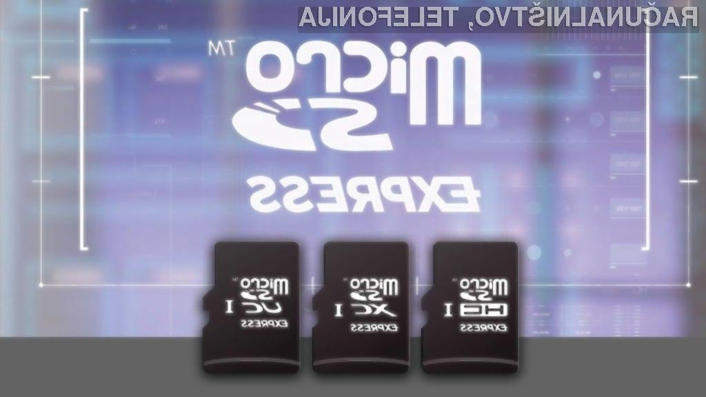 Pomnilniške kartice microSD Express imajo nedvomno zelo velik potencial!