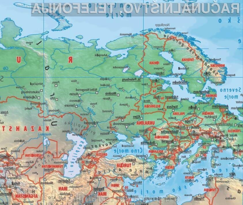 Svet - mala stenska karta 100x70  – IZKLICNA CENA 1 €!