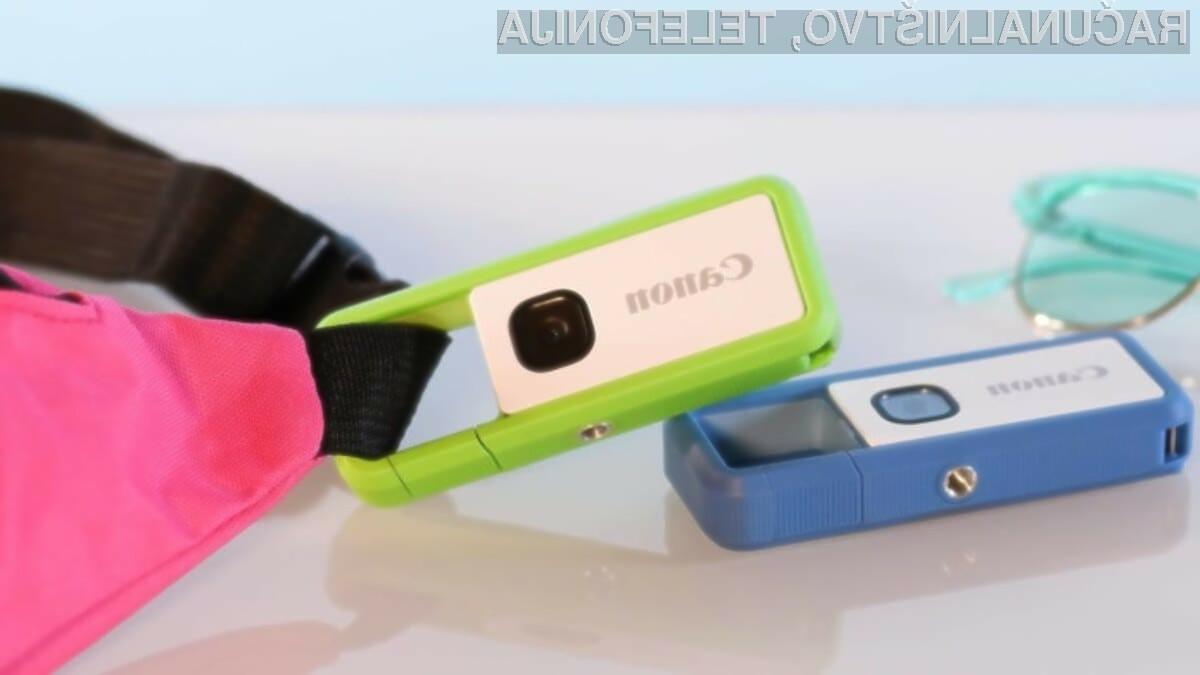 Digitalni fotoaparat Canon Ivy REC je nadvse kompakten, a zelo zmogljiv!