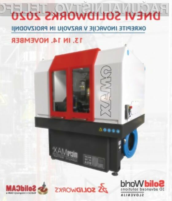 Podjetje Solid World organizira 13. in 14. novembra tradicionalni dogodek »Dnevi SOLIDWORKS 2020«.