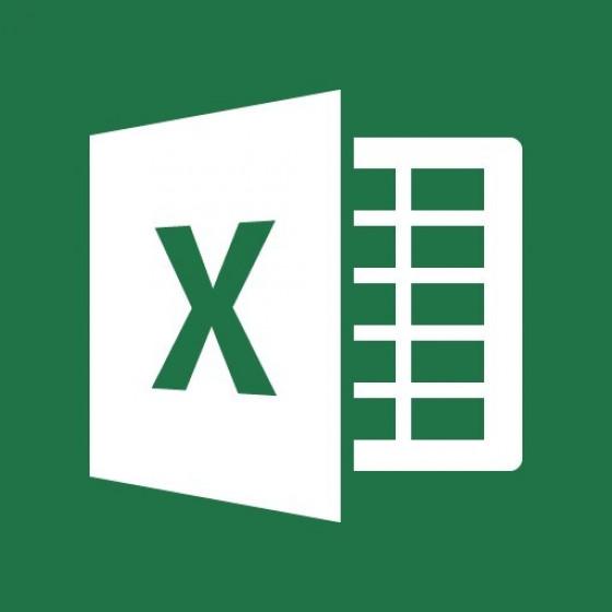 Tečaj MS Excel 2016 začetni (4. - 5.11.2019)  – IZKLICNA CENA 1 €!