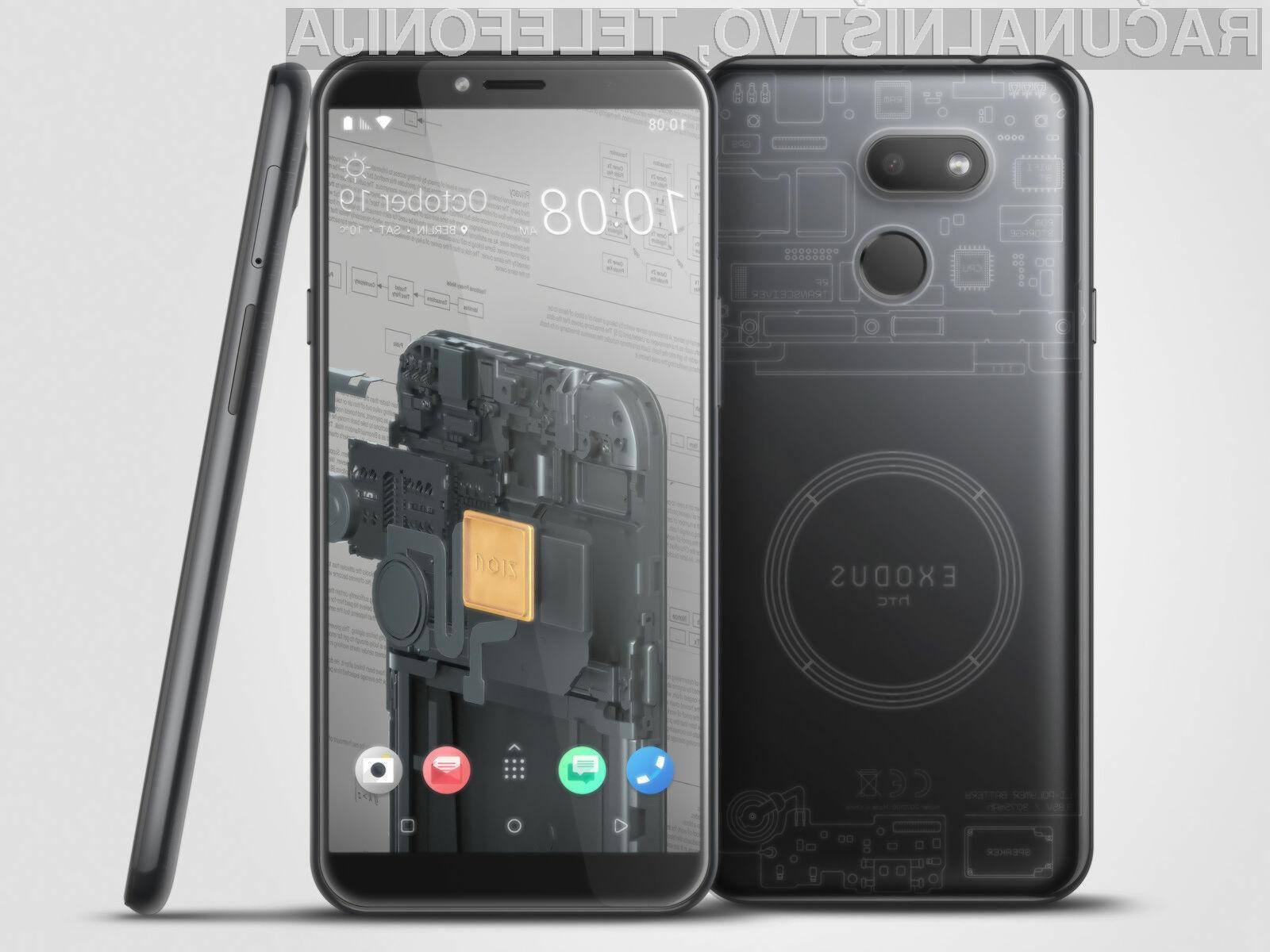Za nakup zanimivega telefona HTC Exodus 1s bo treba odšteti le 219 evrov.