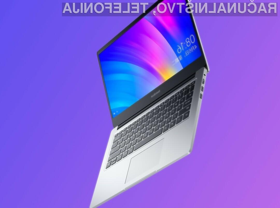 Priljubljeni prenosni računalnik Xiaomi RedmiBook 14 bo na voljo tudi s procesorjem AMD Ryzen.