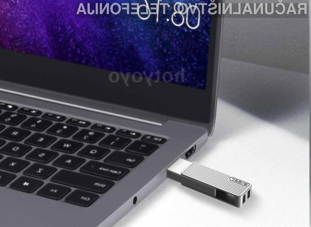 Pomnilniški ključ Xiaomi Jessis U Disk T1 za malo denarja ponuja veliko.
