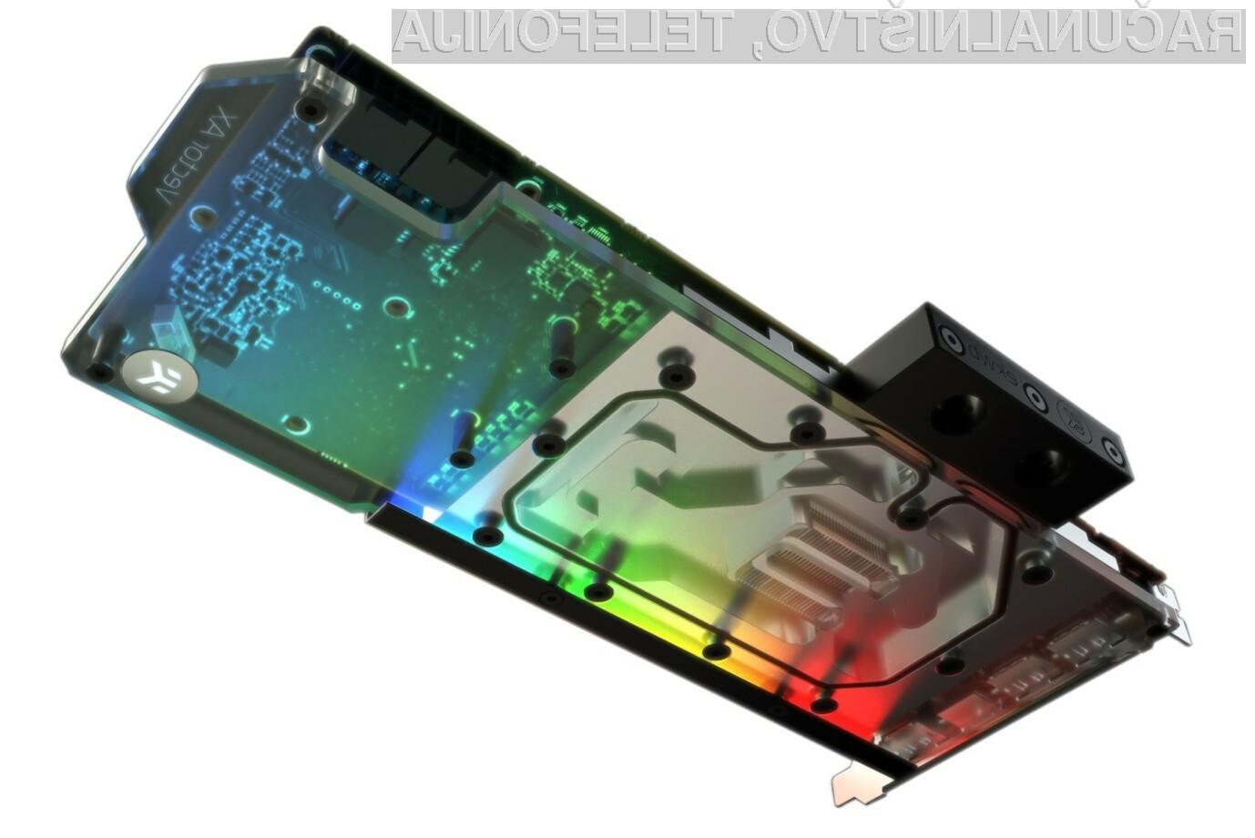 Napredni hladilni sistem EK-AC Radeon RX 5700 +XT D-RGB je resnično nekaj posebnega.