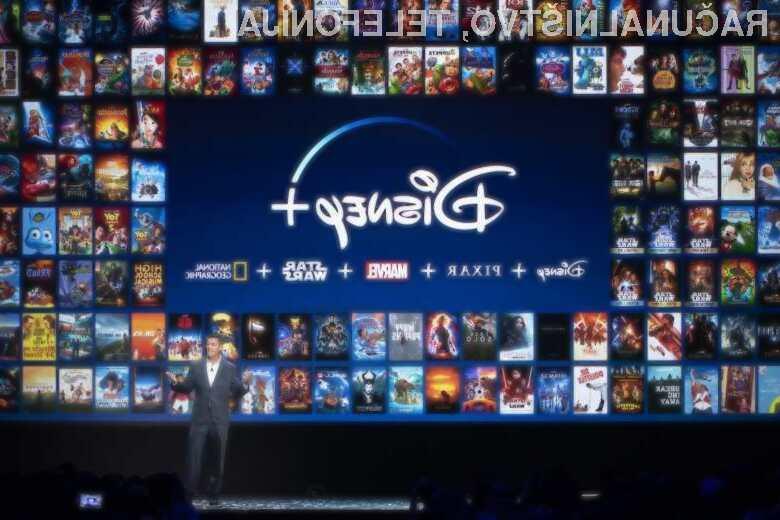 Disney+ naj bi bila pri nas na voljo v začetku meseca oktobra.