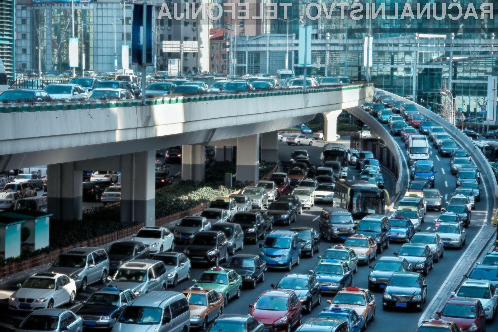 Pametni semaforji naj bi veliko pripomogli v boju proti prometnim zamaškom.