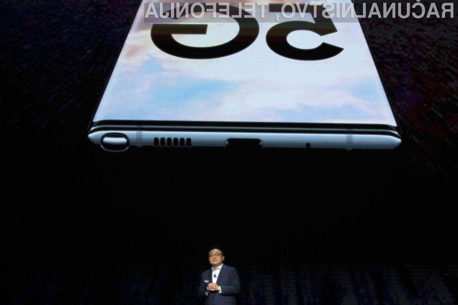 Pametni mobilni telefoni Samsung Galaxy S11 bodo še večji od zdajšnjih modelov.