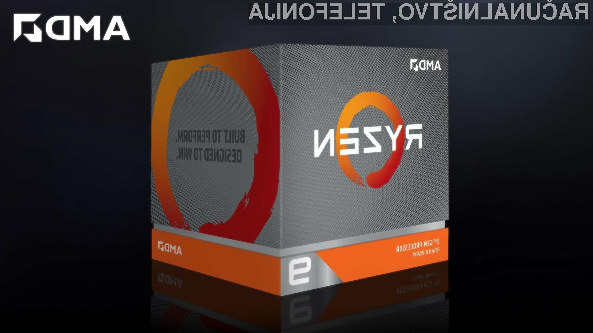 Procesor AMD Ryzen 9 3950X se bo brez težav prikupil tudi najzahtevnejšim uporabnikom.