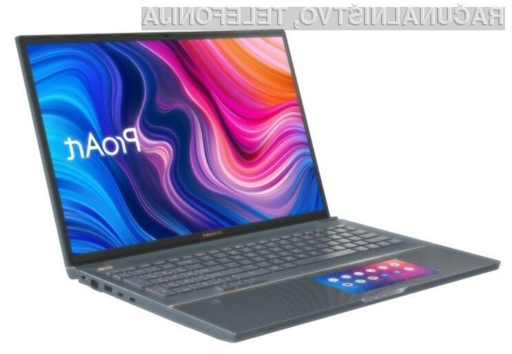 Prenosnik Asus ProArt StudioBook Pro X bo kot nalašč za najzahtevnejše naloge povezane z grafičnim oblikovanjem.