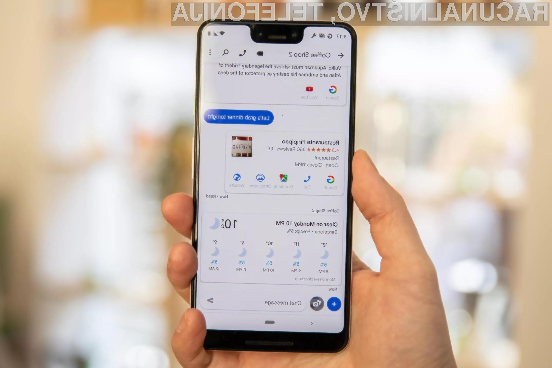 Sporočilni sistem Google Messages postaja iz dneva v dan boljši!