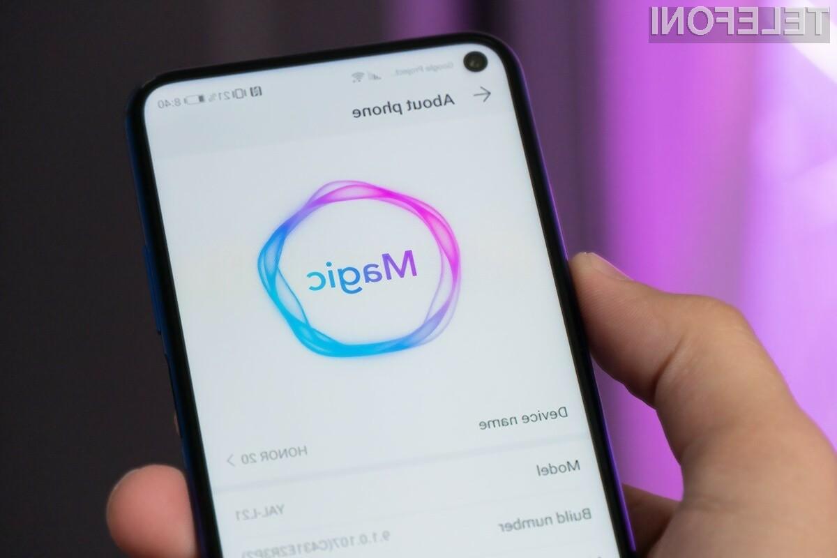 Novi mobilni operacijski sistem Magic UI 3.0 navdušuje v vseh pogledih!