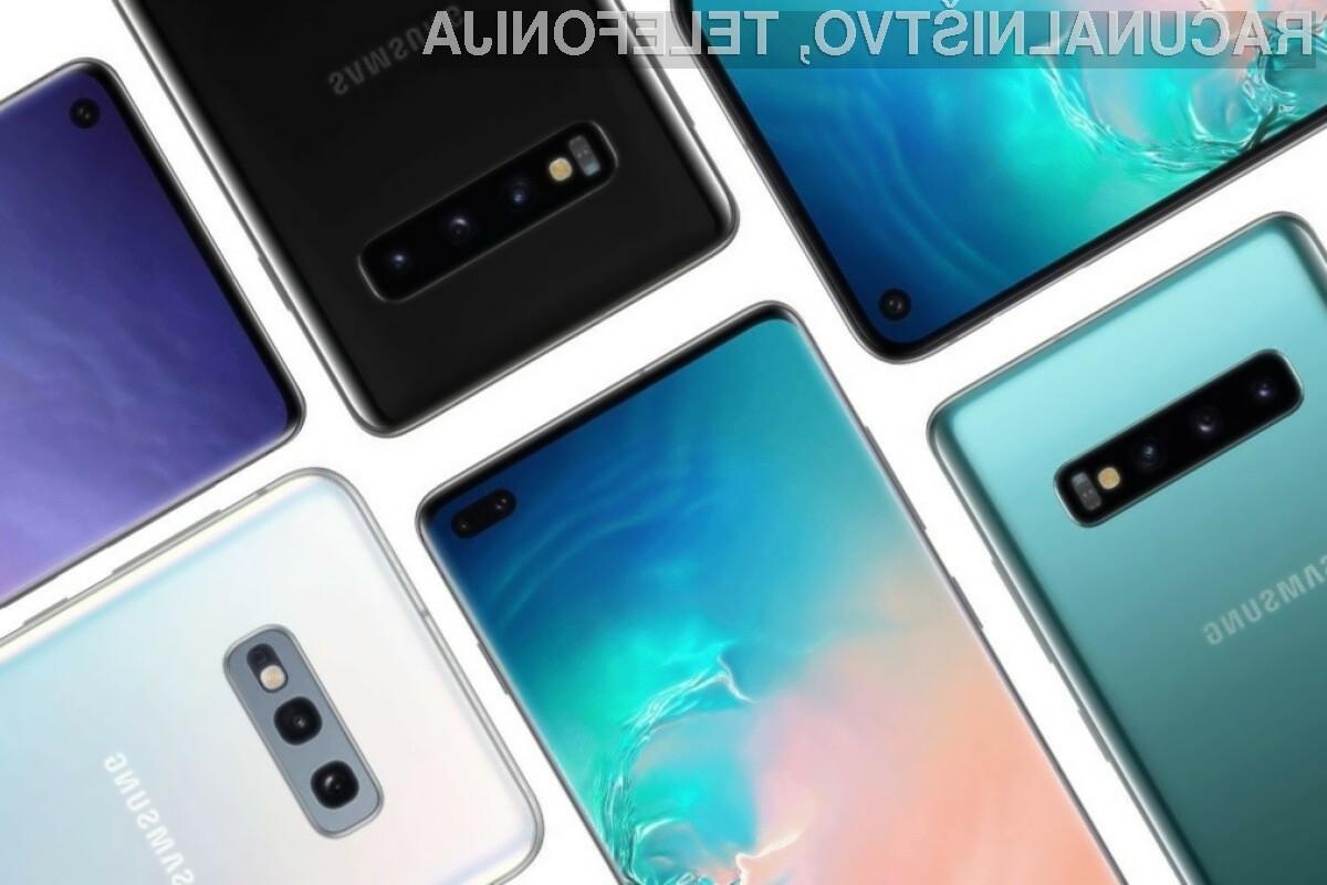 Pametni mobilni telefoni Galaxy S10 bodo po posodobitvi pridobili številne funkcije telefonov Galaxy Note 10.