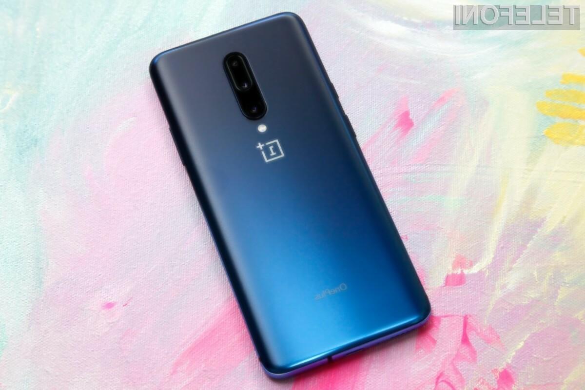 Pametni mobilni telefon OnePlus 8 Pro bo kot nalašč za ljubitelje mobilnih iger in večpredstavnostnih vsebin.