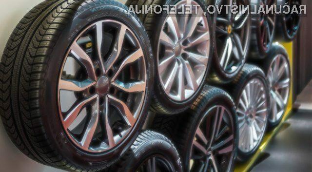 Pnevmatika Pirelli Cyber Tire naj bi pripomogla k precej večji prometni varnosti.