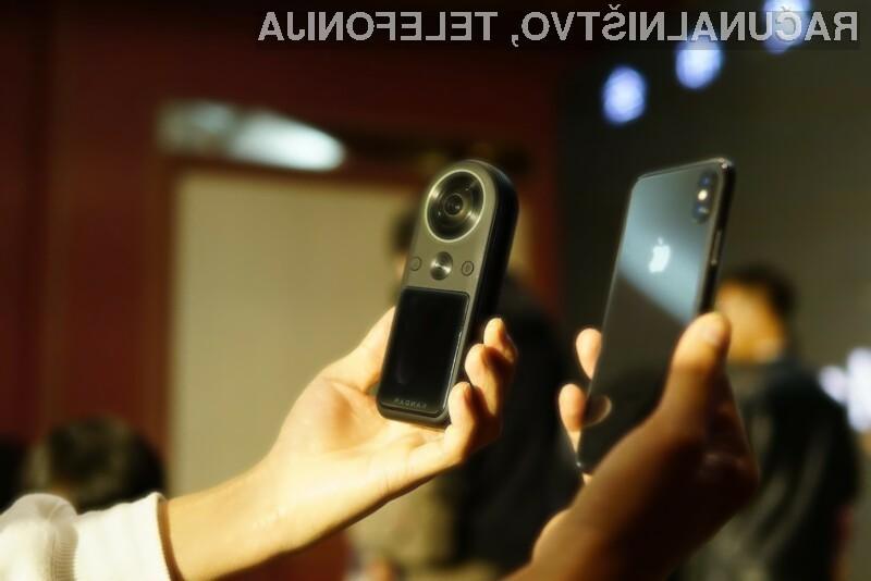 Prenosna kamera KanDao Technology QooCam 8K bo zlahka kos tudi najzahtevnejšim nalogam.