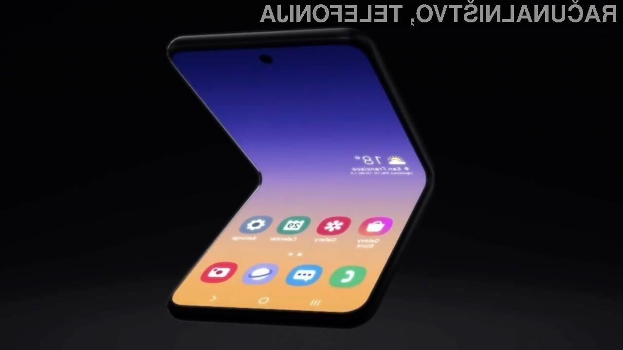 Plastiko na prepogljvih telefonih bo kmalu nadomestilo steklo.