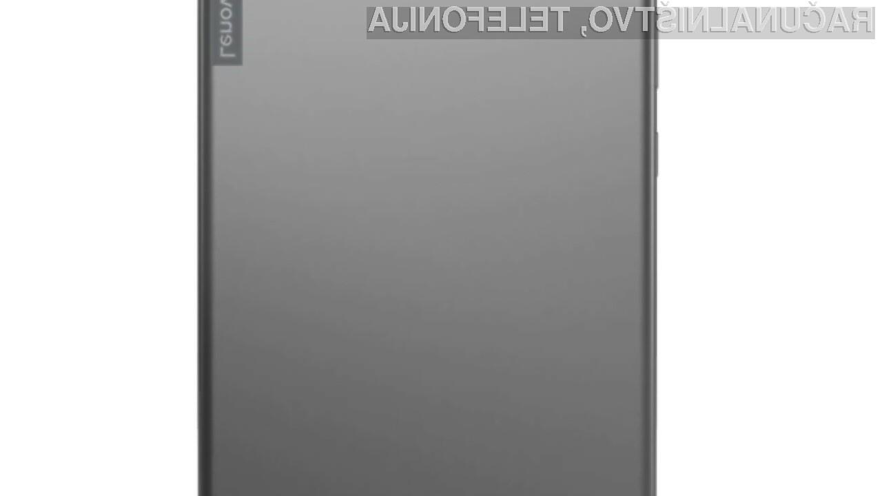 Tablični računalnik Lenovo z operacijskim sistemom Chrome OS bo nekaj posebnega.