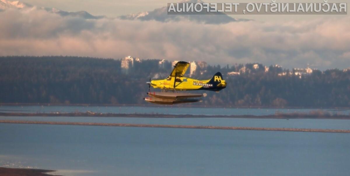 Električno potniško letalo je s pomočjo podjetja Harbour Air Seaplanes vendarle postalo resničnost!