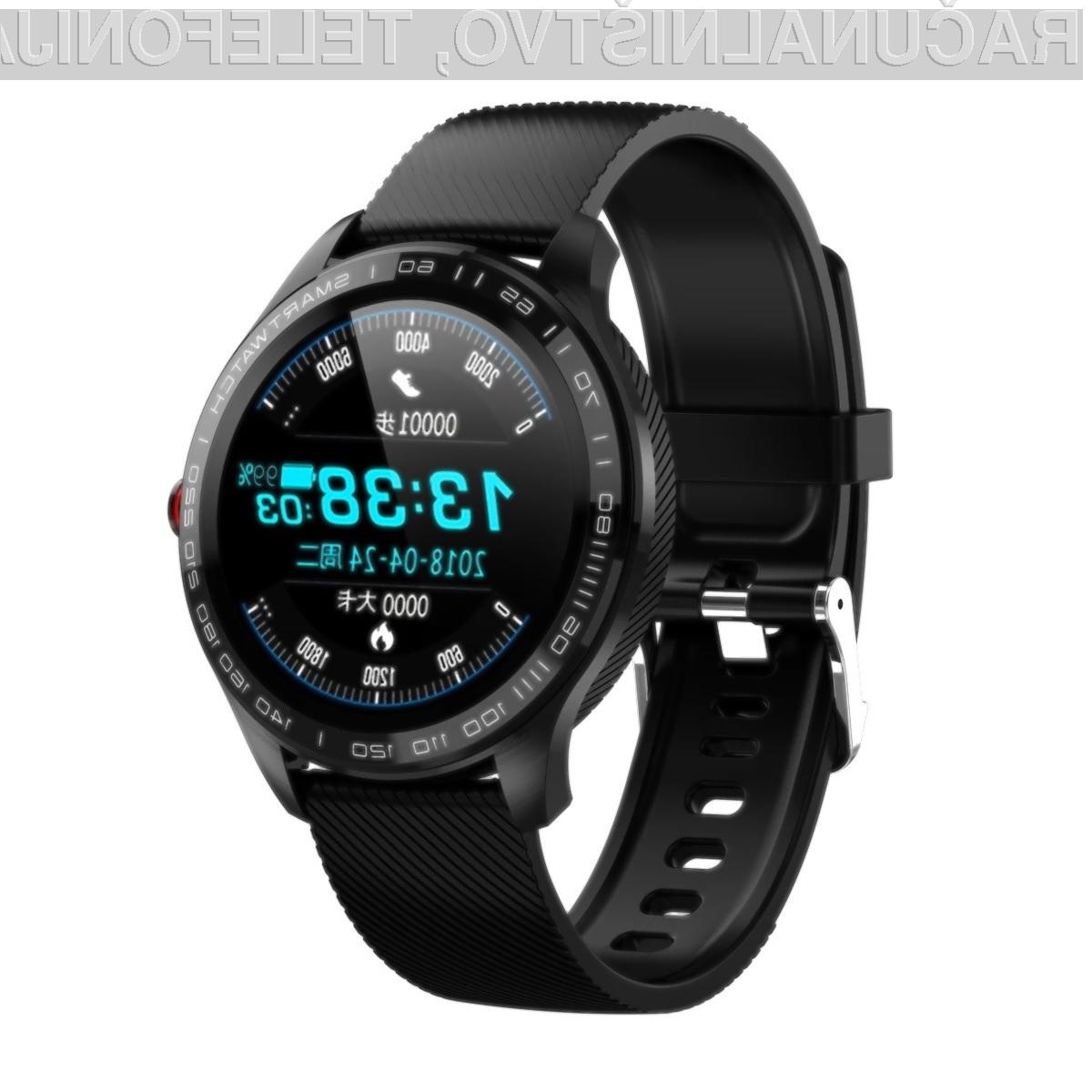 Microwear L9 vodoodporna pametna ura z 1,3-palčnim