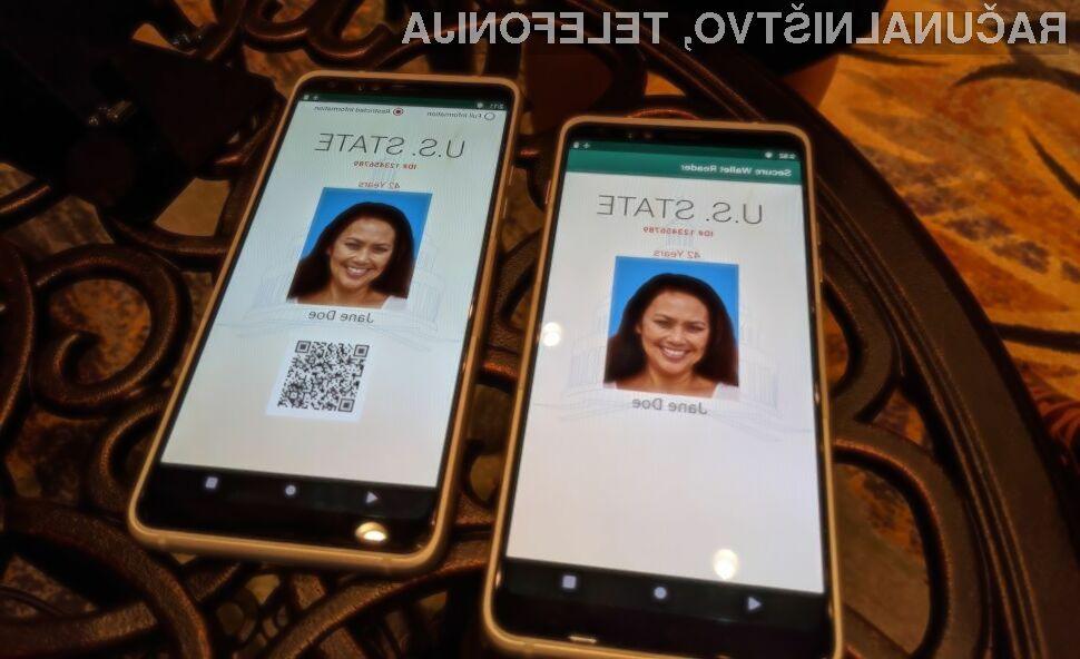 Vse naše osebne dokumente bi lahko v prihodnje imeli shranjene kar na našem pametnem mobilnem telefonu.
