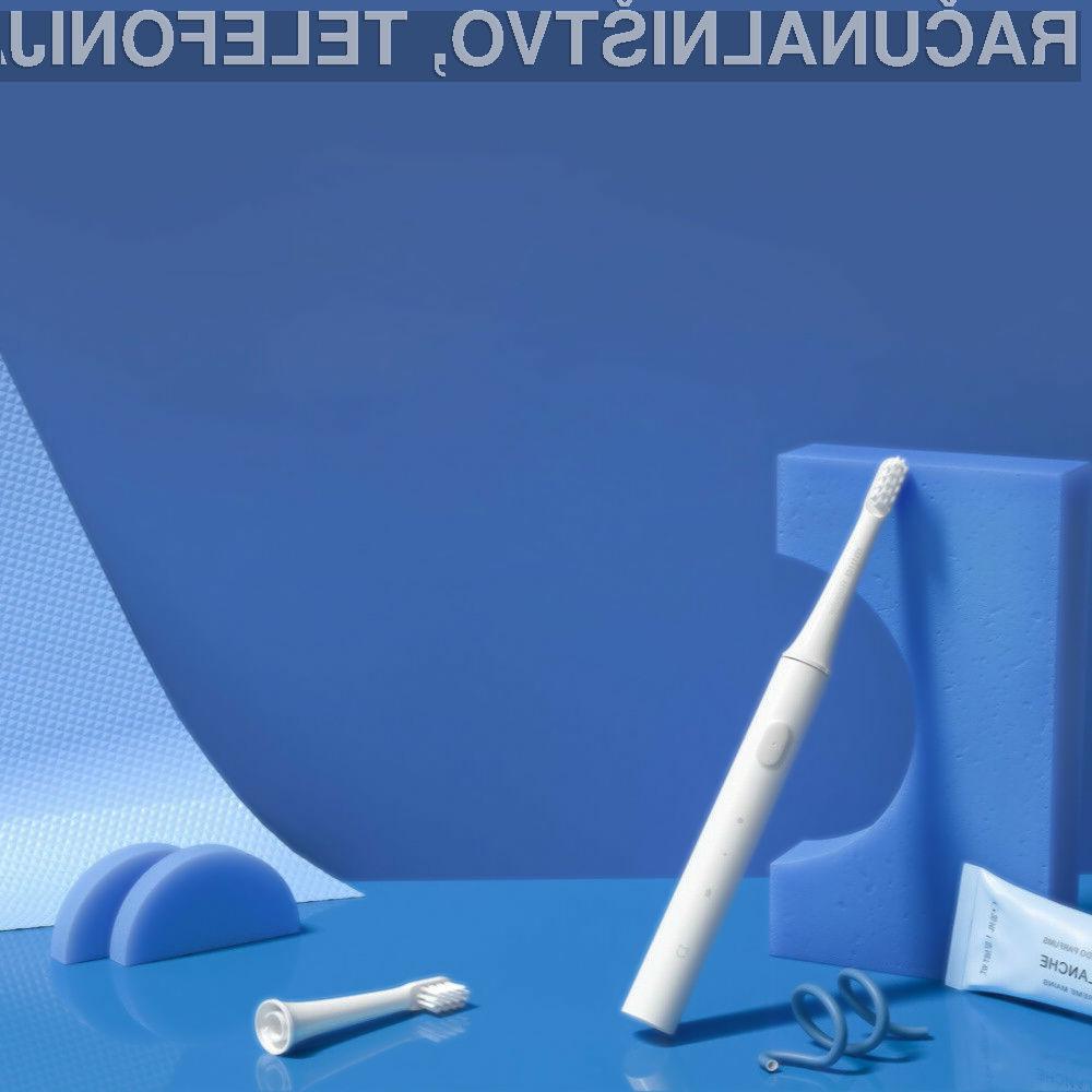 Električna zobna ščetka Xiaomi Mijia Sonic Electric Toothbrush T100 je lahko vaša že za zgolj 7,1 evrov.
