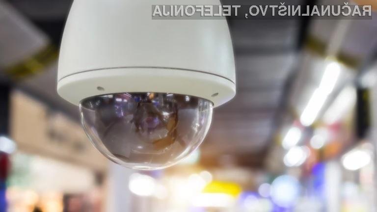 Nadzorne kamere najdemo že praktično na vsakem koraku!
