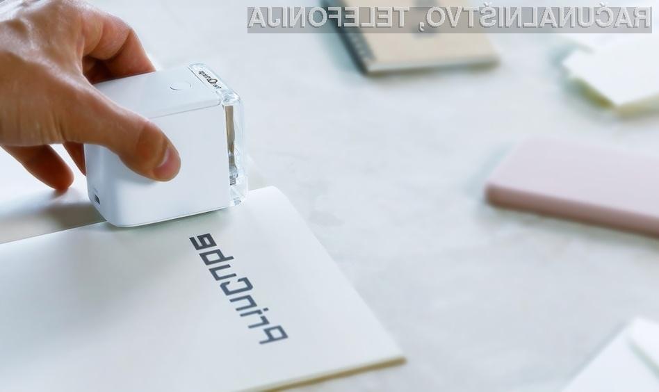 S tiskalnikom PrinCube lahko tiskamo na praktično vse površine.
